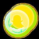 Pie Chart Social Media Icon