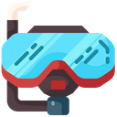 Snorkel Diving Goggles Diving Mask Icon