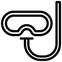 Snorkle Scuba Sport Icon