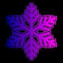 Snowflake Flake Christmas Icon