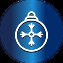 Snowflake Snow Globe Chocolates Icon