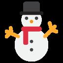 Snowman Without Snow Icon