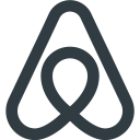 Official Free Logo Of Airbnb Airbnb Is One Of The Top Hotel Booking Company In The World Icon