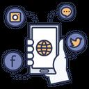 Socialmedia Social Application Icon