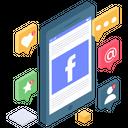 Social Media Notifications Icon