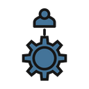 Social Network Social Community Connected Users Icon