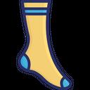 Christmas Socks Footwear Hosiery Icon