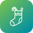 Socks Gift Candy Icon