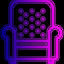Sofa Armchair Belongings Icon