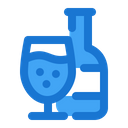 Soft Drink Bottle Glass Icon