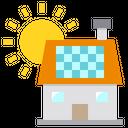 Solar House Icon