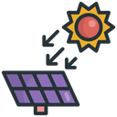 Solar Irradiance Battery Icon
