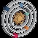 Astronomy Solar Space Icon