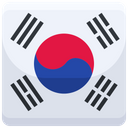 South Korea Country Flag Flag Icon