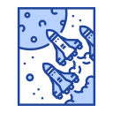 Exploration Solar System Icon