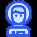 Space Suit Man Icon