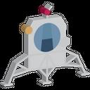 Lunar Module Space Icon