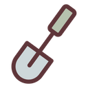 Spade Shovel Gardening Tool Icon