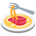 Spaghetti Pasta Noodles Icon