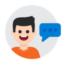 Speak Talk Message Icon