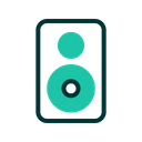 Speaker Computer Technology Icon