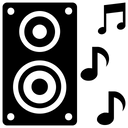 Speaker Sound System Music System Icon