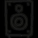 Audio Box Music Icon