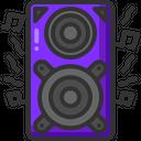 Speaker Sound System Equipment Icon