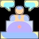 Speech Bubble Message Icon