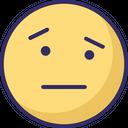 Speechless Sad Angry Icon