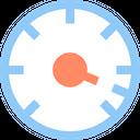 Speed Accelerate Speedometer Icon