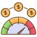Speedometer Boost Fast Icon