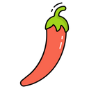 Spices Red Chili Spicy Icon