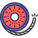 Spinning Wheel Crackers Icon