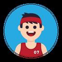 Sport Athlete Avatar Icon