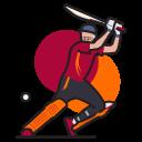 Sport Game Batsman Icon