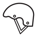 Helmet Protection Sport Helmet Icon