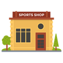 Sports Shop Marketplace Outlet Icon