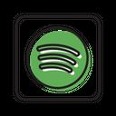 Spotify Music Social Media Icon