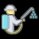 Spray Disinfectant Icon