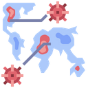 Spreading Virus Outbreak Virus Outbreak Icon