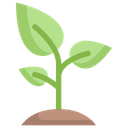 Sprout Growth Plant Icon