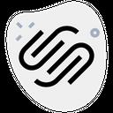 Squarespace Technology Logo Social Media Logo Icon