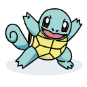 Squirtle Pokemon Water Icon