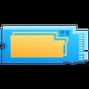 Ssd Storage Data Icon