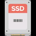 Ssd Gray Storage Drive Hard Drive Icon