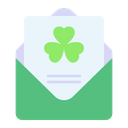 St Patricks Day Letter Icon