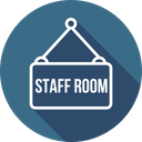 Staff Room Board Icon
