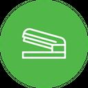 Stapler Pin Fastnen Icon