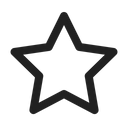 Star Favourite Important Bookmarks Icon